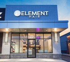 Haircuts and beauty services for men and women at Element Hair Salon in the Boardwalk Waterloo