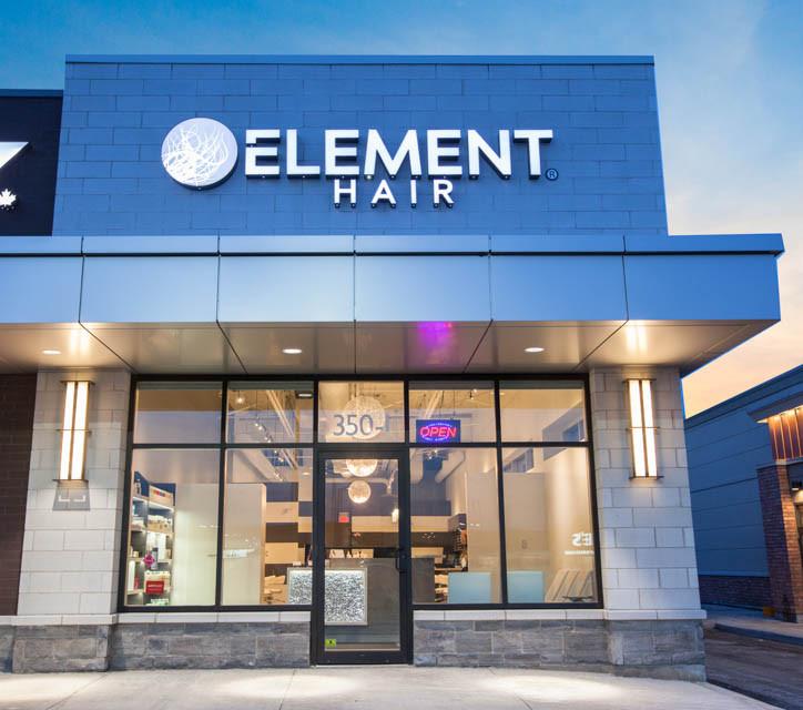 Element Hair Salon in the Boardwalk Waterloo | Haircuts, hair colouring, hair extensions