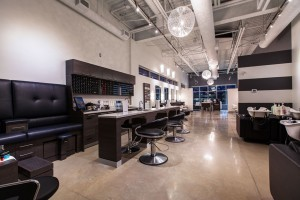 Inside the Element Hair Salon