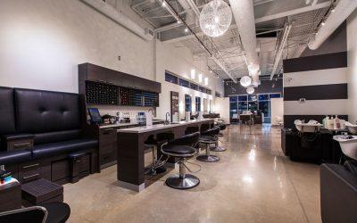 Inside the Element Hair Salon