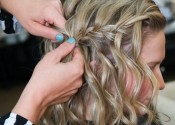 Waterfall Braid step 3