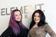 Meet Charlotte and Wilhemina! Certified aestheticians at Element Hair.