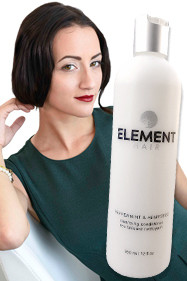 Peppermint Hempseed Cleansing Condition hair care by Element