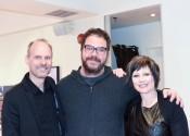 Lance & Kim with Gerard Scarpaci
