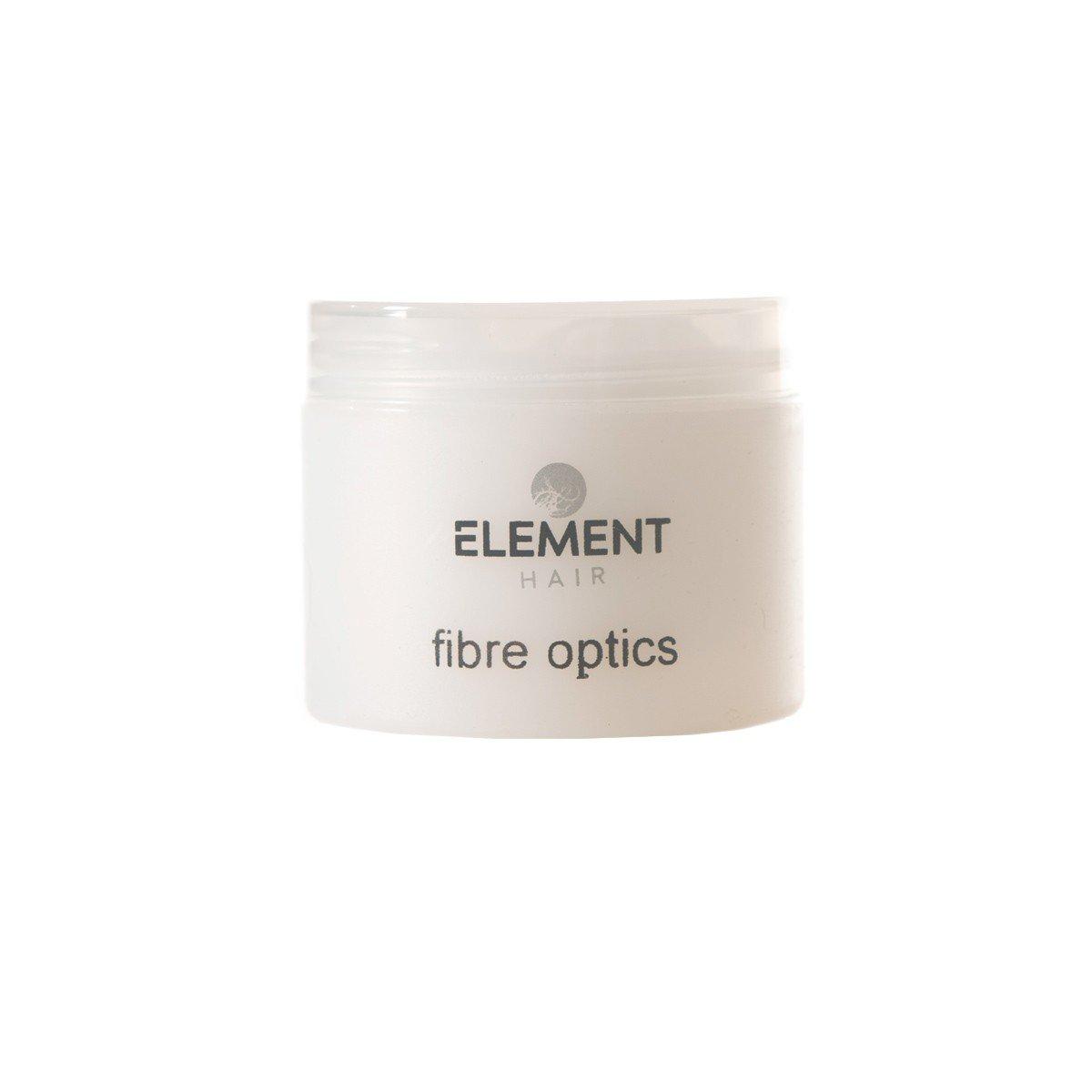Fibre optics hair styling