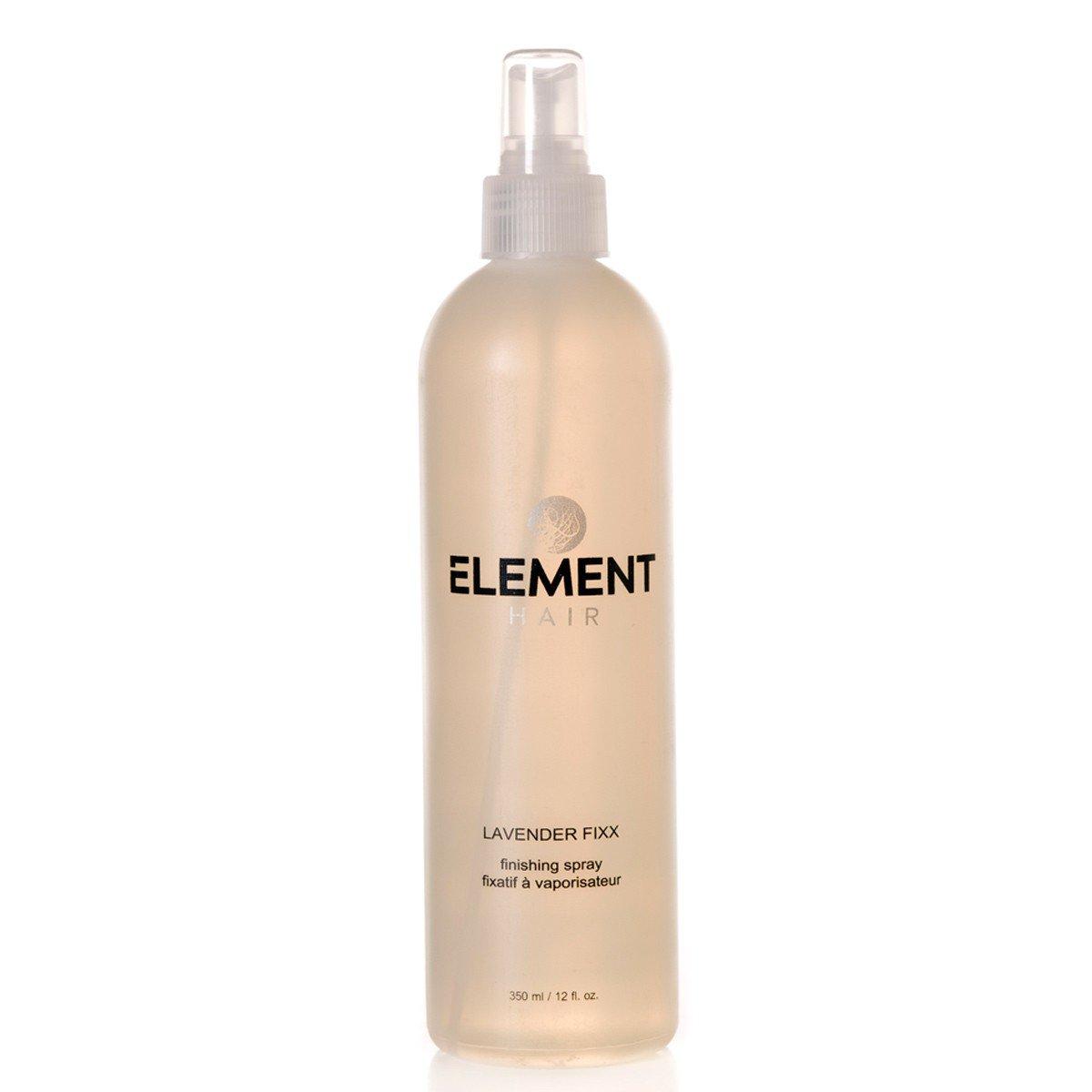 Lavender Fixx hairspray finishing spray