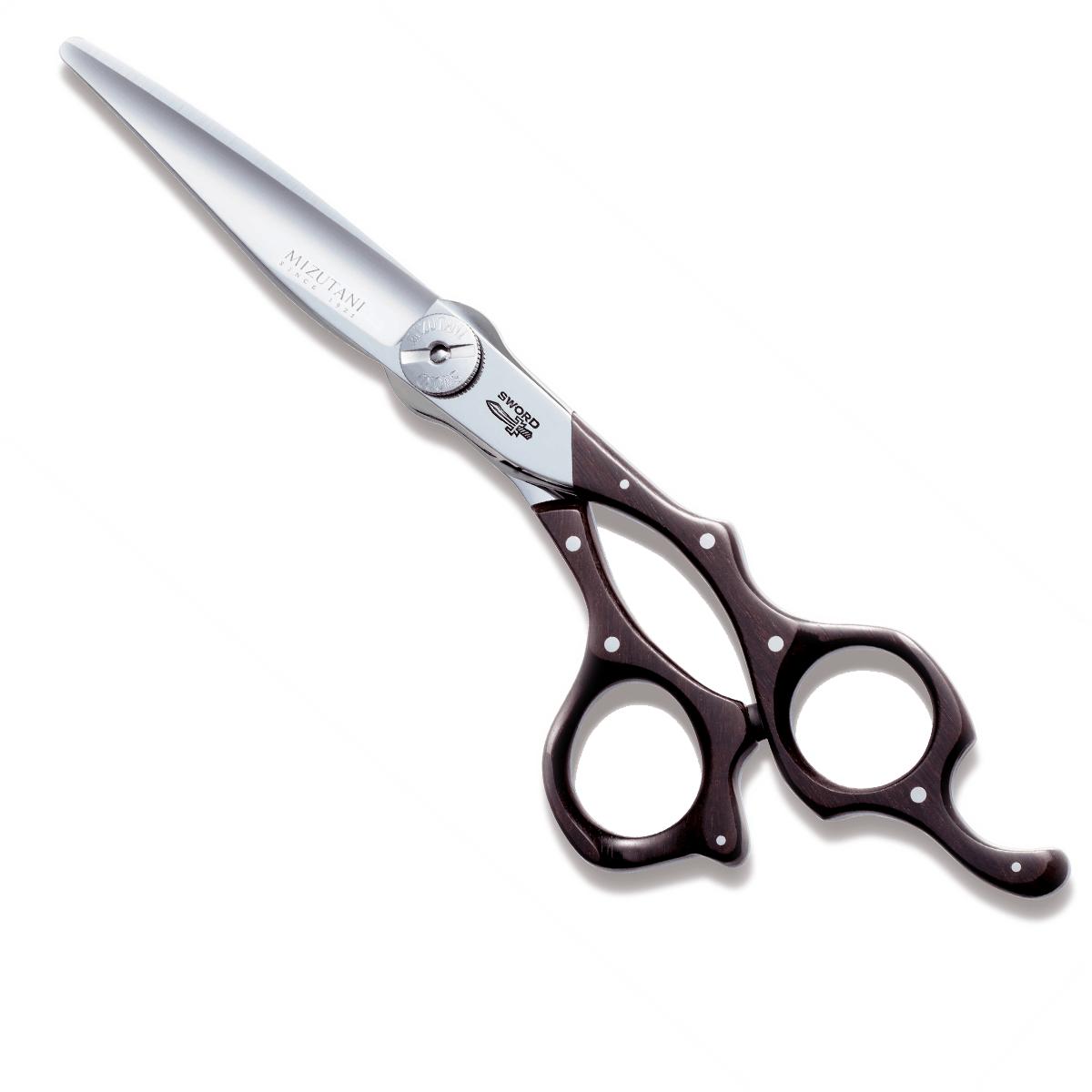 Mizutani SWORD + African Wood D17 Scissors