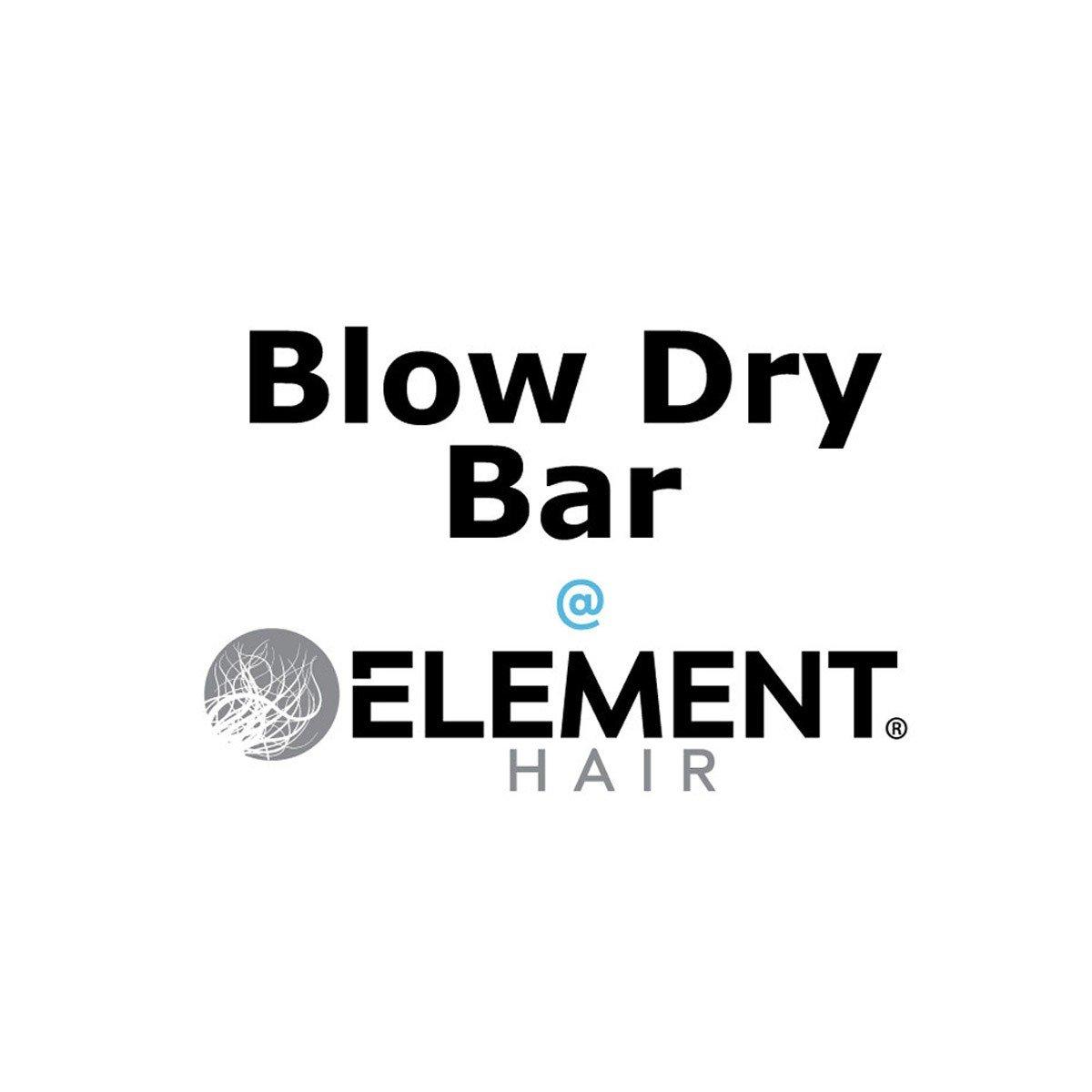 Blow dry bar blowouts Element Hair Salon