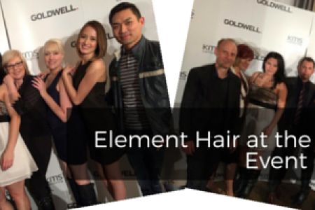 Element Hair at the VIP Goldwell Event