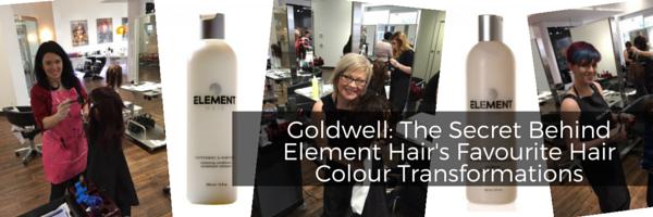 Element Hair Blog Goldwell The Secret Behind Element Hairs Favourite Hair Colour Transformations