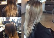 Element Hair Waterloo client hair cuts. colours and styles