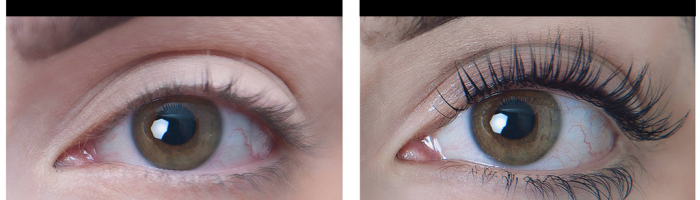 Best eyelash extensions at Element Hair in Waterloo