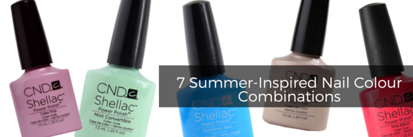 7 Summer-Inspired Nail Colour Combinations