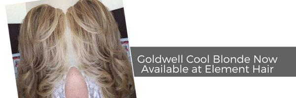 Goldwell Cool Blonde Now Available at Element Hair