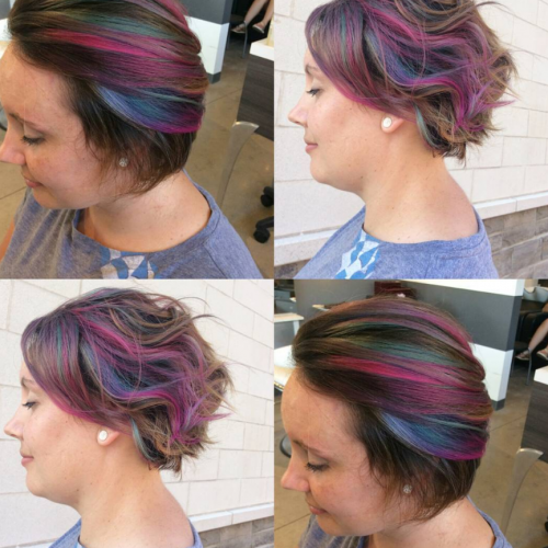 hair painting color melt
