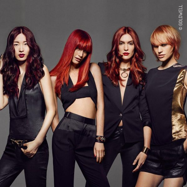 Fall 2016 RED collection womens hair colour