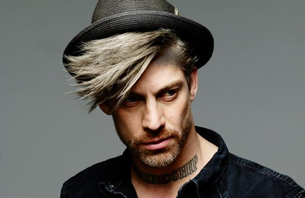strong cool blonde hair colouring for men at Element Hair
