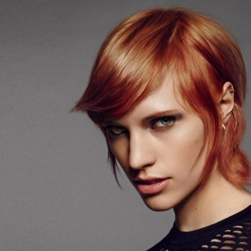 The Shimmering Copper Service! Hair colouring for women at Element Hair Waterloo