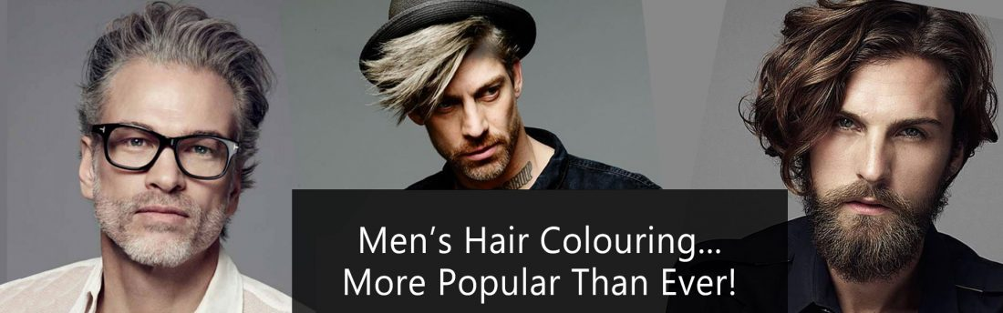 men's hair colouring services Element Hair