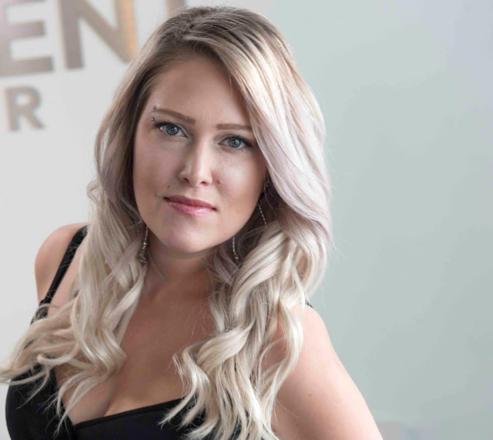 Kristie hair stylist at Element Hair