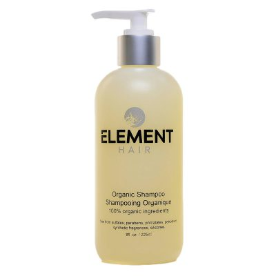 100% Organic Shampoo for healthy clean hair. By Element Hair.