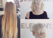Icey blonde hair color for women