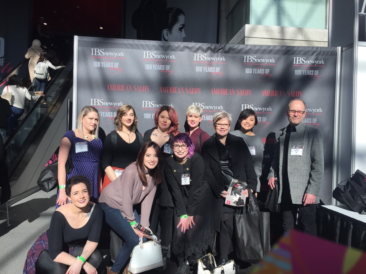 Element Hair at International Beauty Show in New York City