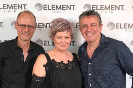 Nick Arrojo visits Element Hair in Waterloo