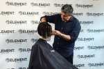 nick arrojo visits element hair
