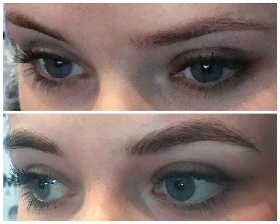 Microblading Eyebrow Makeup Semi Permanent