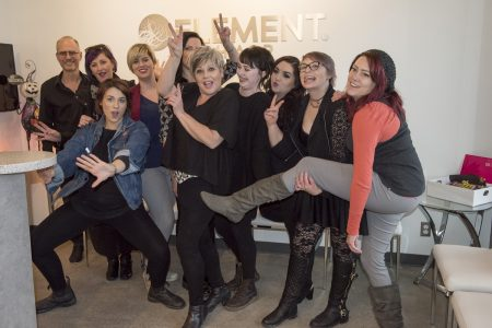 Element Hair Studio special education: Hair Updos!