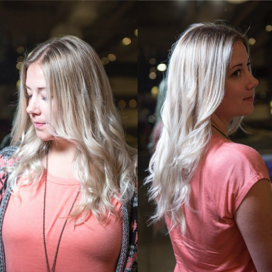 Balayage hair Element Hair Waterloo