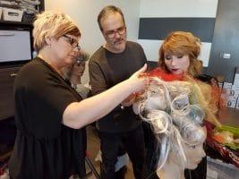 Sandro Macri visits Element Hair
