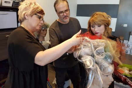 Award winning avant-garde stylist Sandro Macri visits Element Hair