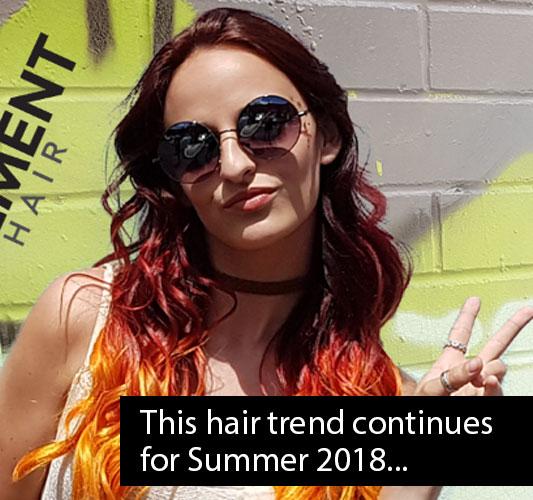 balayage hair summer 2018