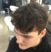 The merm for men - man perm - by Element Hair
