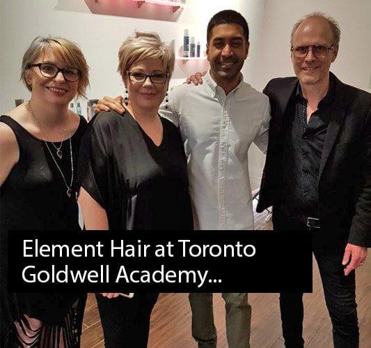 Element Hair Studio at Toronto Goldwell Academy