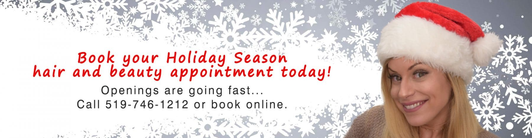 book your christmas 2018 appointment now