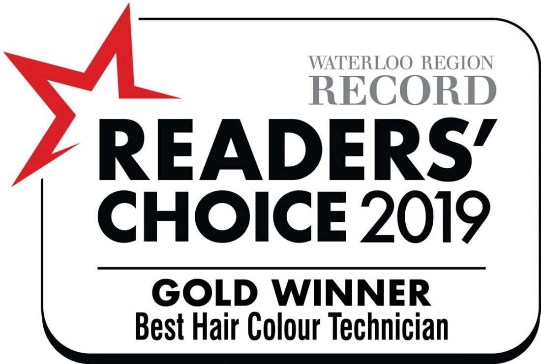 Gold Winner best hair colour technician